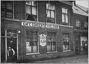 Hague Congress (1872) - Café Concert Excelsior, Lange Lombardstraat 109, The Hague. Location of the Hague Congress of 1872
