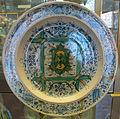 Cafaggiolo, piatto con stemma tornabuoni, 1550 ca., 02.JPG