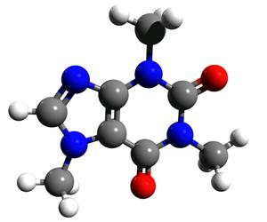 Caffeine (data page) - Image: Caffeine 3d structure