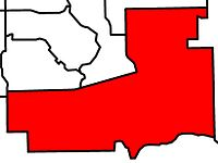 CalgarySouthEast electoral district 2010.jpg