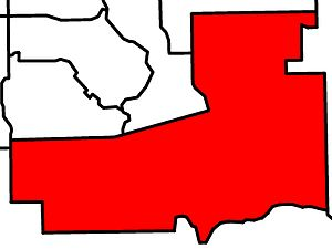 Calgary-South East - Image: Calgary South East electoral district 2010