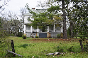 National Register of Historic Places listings in McCormick County, South Carolina - Image: Calhoun Gilbert House