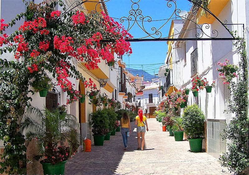 Calle Florida in summer - Estepona Garden of the Costa del Sol.jpg