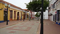 Old town and port of Coro