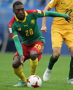 Karl Toko Ekambi - Toko Ekambi at the 2017 Confederations Cup