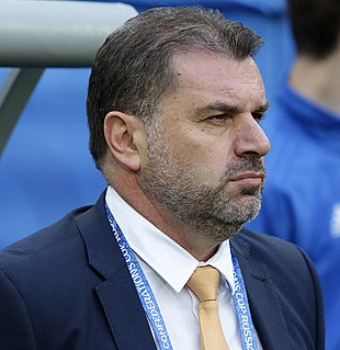 Ange Postecoglou Australian association football player