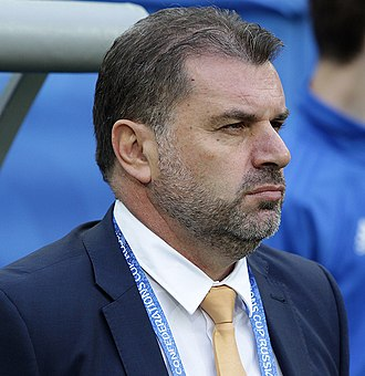 Ange Postecoglou - Postecoglou at the 2017 FIFA Confederations Cup