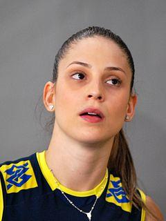 Camila Brait Brazilian volleyball player