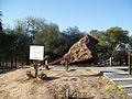 Campo del Cielo meteorite, El Chaco fragment, sign.jpg