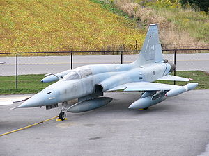 Canadair CF 116 CF-5A Freedom Fighter.JPG