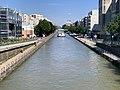 Canal Ourcq vu depuis Pont Avenue Général Leclerc Pantin 3.jpg