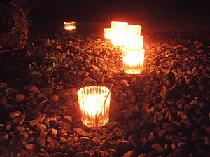 300px candles at the 2012 summer solstice candle night what was held in ofuna can non temple