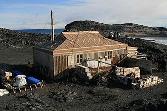 Cape Royds - Shackleton's Hut at Cape Royds
