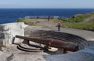Cape Spear - World War II battery