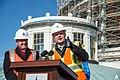 Capitol Dome Restoration Media Briefing November 2014 (15642337029).jpg