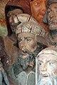 Cappella dell'andata al calvario, edicola del crucifige attr. a benedetto buglioni, 03 berretto frigio.jpg