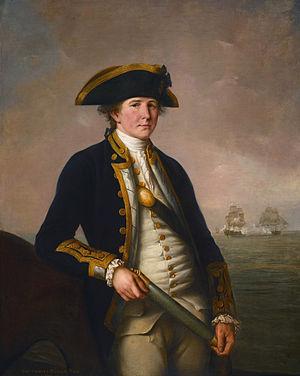 Sir Charles Pole, 1st Baronet - Charles Morice Pole (John Francis Rigaud, 1781)