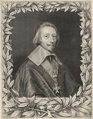 Battle of Tarragona (August 1641) - Cardinal Richelieu by Robert Nanteuil.