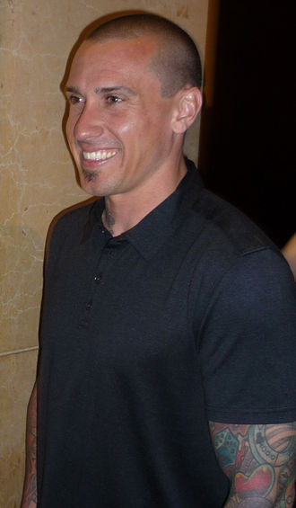 True Love (Pink song) - Pink's husband, Carey Hart (pictured) makes a cameo appearance in the music video
