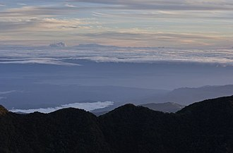 Volcán Barú - Image: Caribbean view visible from the summit of Volcan Baru
