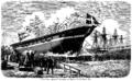 Carl Neumann - Skruekorvetten Dagmar - 1861.png