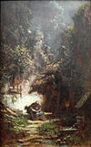 Carl Spitzweg (7)Recluse Reading.JPG