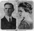 Carle Abrams and Fern Hobbs from 1915 Oregonian story.png