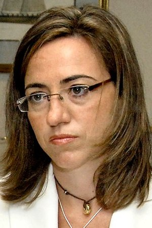 38th PSOE Federal Congress - Image: Carme Chacón 2009b (cropped)