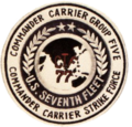 Carrier Group 5 insignia (US Navy) 1979.png
