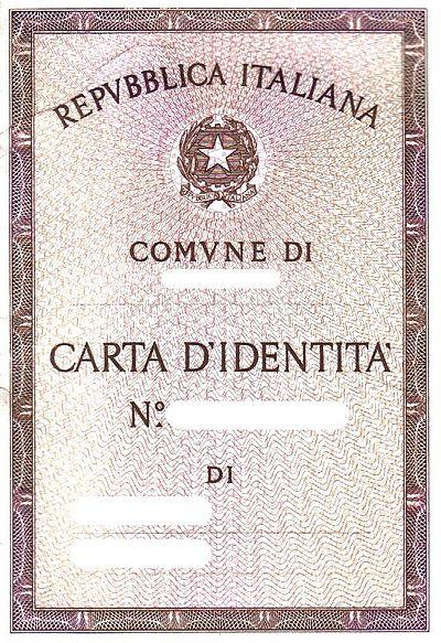 Documento De Identidad Wikiwand