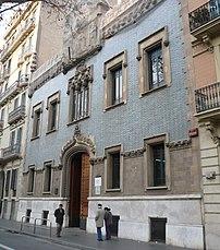 Casa de la Lactancia, Barcelona (1913)