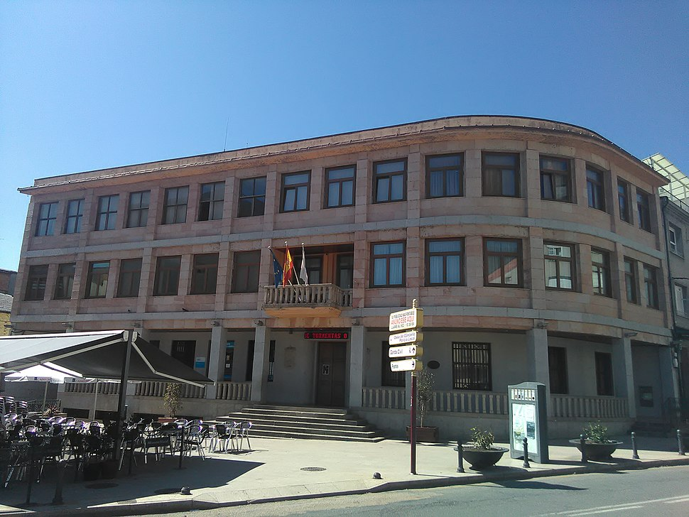 Casa do concello da Rúa, provincia de Ourense
