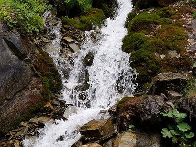 Cascada valea spumoasa
