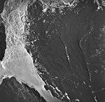 Casement Flood Plain and Adam's Inlet, outwash plain and glacial remnents, August 24, 1963 (GLACIERS 5315).jpg