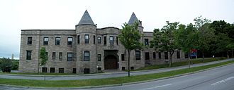 2nd Field Artillery Regiment (Canada) - Côte-des-Neiges Armoury