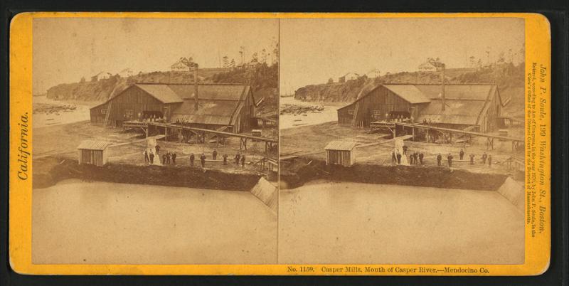 File:Casper Mills, Mouth of River, Mendocino Co, by John P. Soule.png