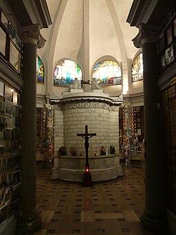 Castellazzo Bormida-santuario della Creta-cappella ex voto5