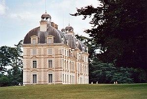 Château de Cheverny - Château de Cheverny, side view