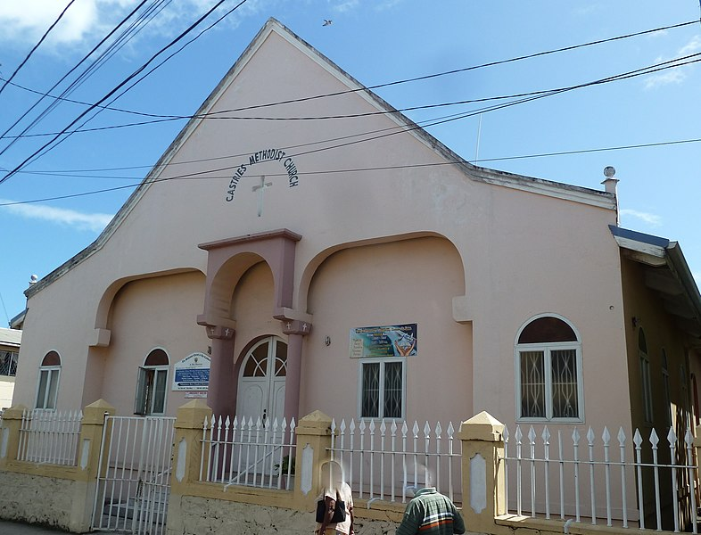 File:Castries - The Methodist Church in the Chisel Street - panoramio.jpg