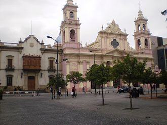 Roman Catholic Archdiocese of Salta - Cathedral Shrine Our Lord and the Virgin of the Miracle
