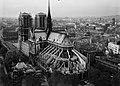 Cathédrale Notre-Dame de Paris- vue aérienne 3 Archives nationales 20130290-10.jpg