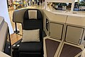 Cathay Pacific A350 business class seat at INDIGO Beijing (20180623190516).jpg