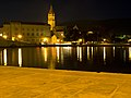 Cathedral of St. Lawrence at night, Trogir, 2008 Croatia P8144931raw (3939779399).jpg