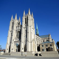 Cathedral of the Most Blessed Sacrament (Detroit, Michigan) - exterior.JPG