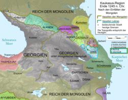 Caucasus 1245 AD map de.png