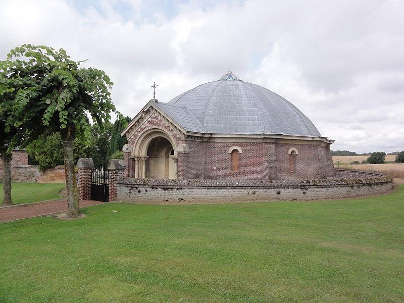 Caulaincourt (Aisne) chapelle funéraire (mausolée)