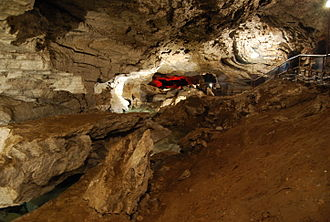 Kungur Ice Cave - A grotto in Kungur Ice Cave