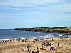 Cavendish beach with bluffs06.JPG