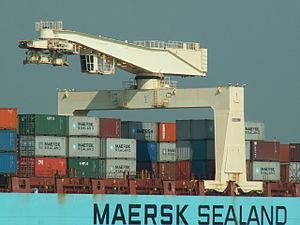 Cecilie Maersk Krane Port of Antwerp 30-Aug-2005.jpg