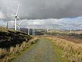 Cefn Croes wind farm - geograph.org.uk - 582422.jpg